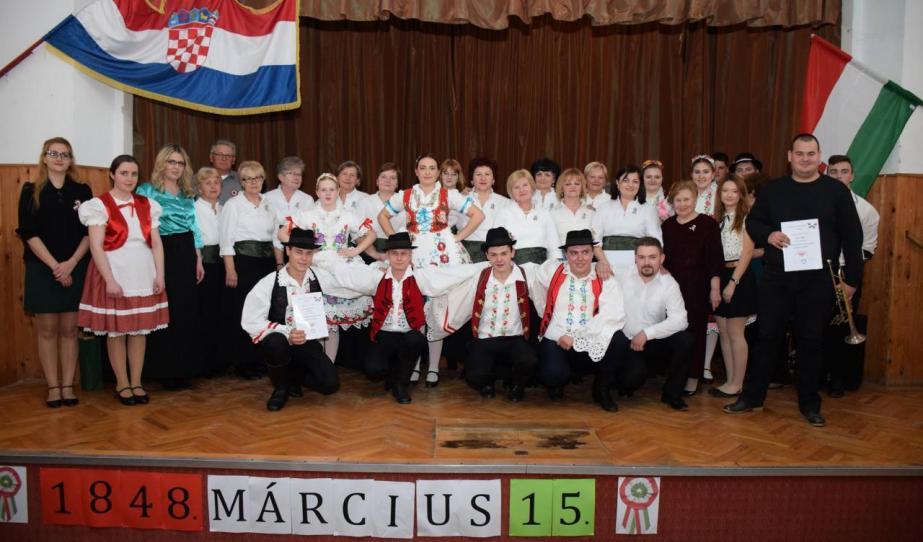 A nagypiszanicai magyarok is megemlékeztek március 15-éről
