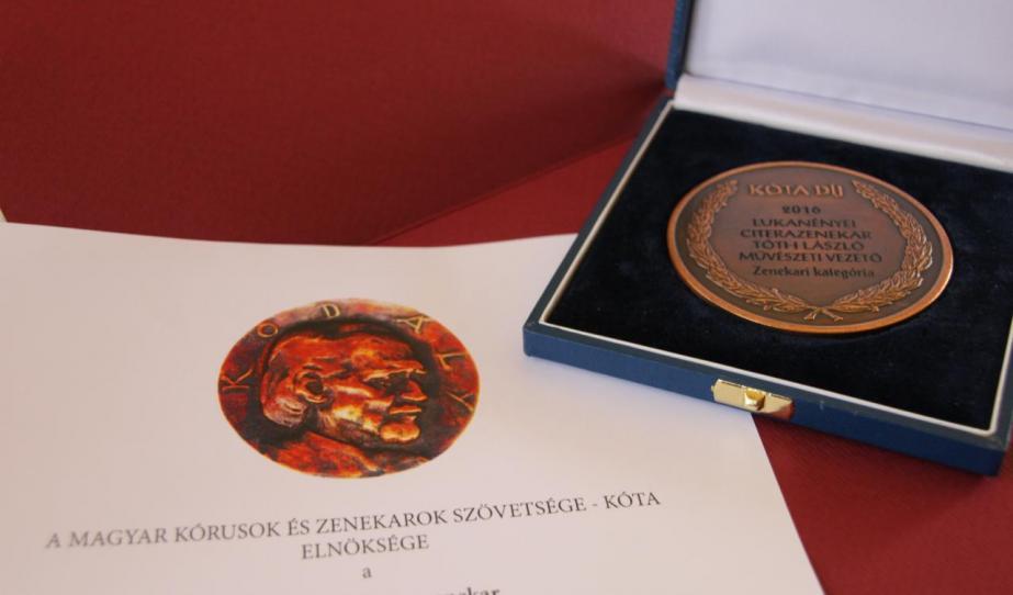 KÓTA-díjas a Lukanényei Citerazenekar