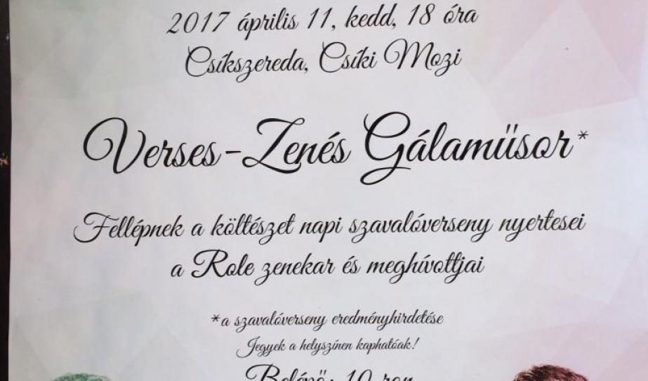 A magyar költészet napjára emlékeztünk Csíkszeredában