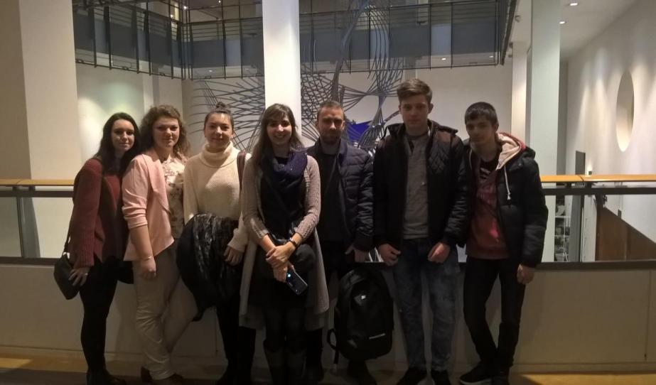 Csodás két nap Brüsszelben - avagy vízaknai fiatalok a nagyvilágban